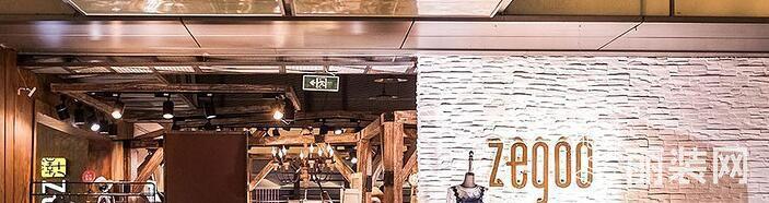 A+设计工装样板间-品牌服装店设计效果实景图