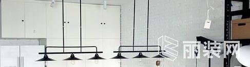 A+设计样板间三居室L㎡FT风装修设计实景效果图