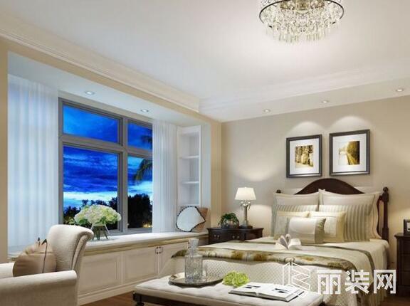 重庆一号家居-108平米三居室简约风格装修案例图