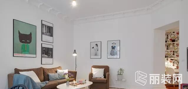 一号家居-109平米北欧风格三居室装修案例图