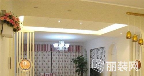 一门兴装饰 韩式风格128平米三室两厅装修案例图