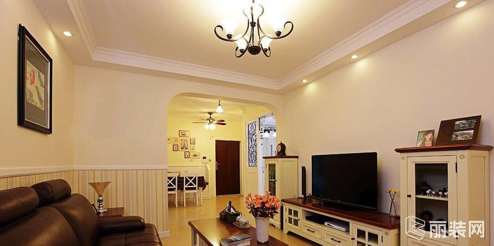 田园风格86平米两室两厅装修案例图 A加装饰