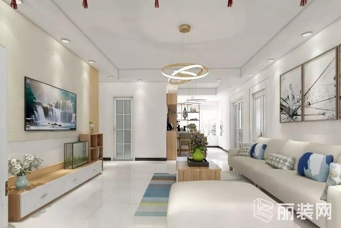 165平现代轻奢四居室,这样设计20年不过时#实拍完工美家#